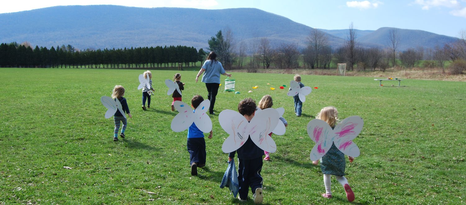 Pine Cobble School Preschool Science l Butterfly Release l Williamstown, MA