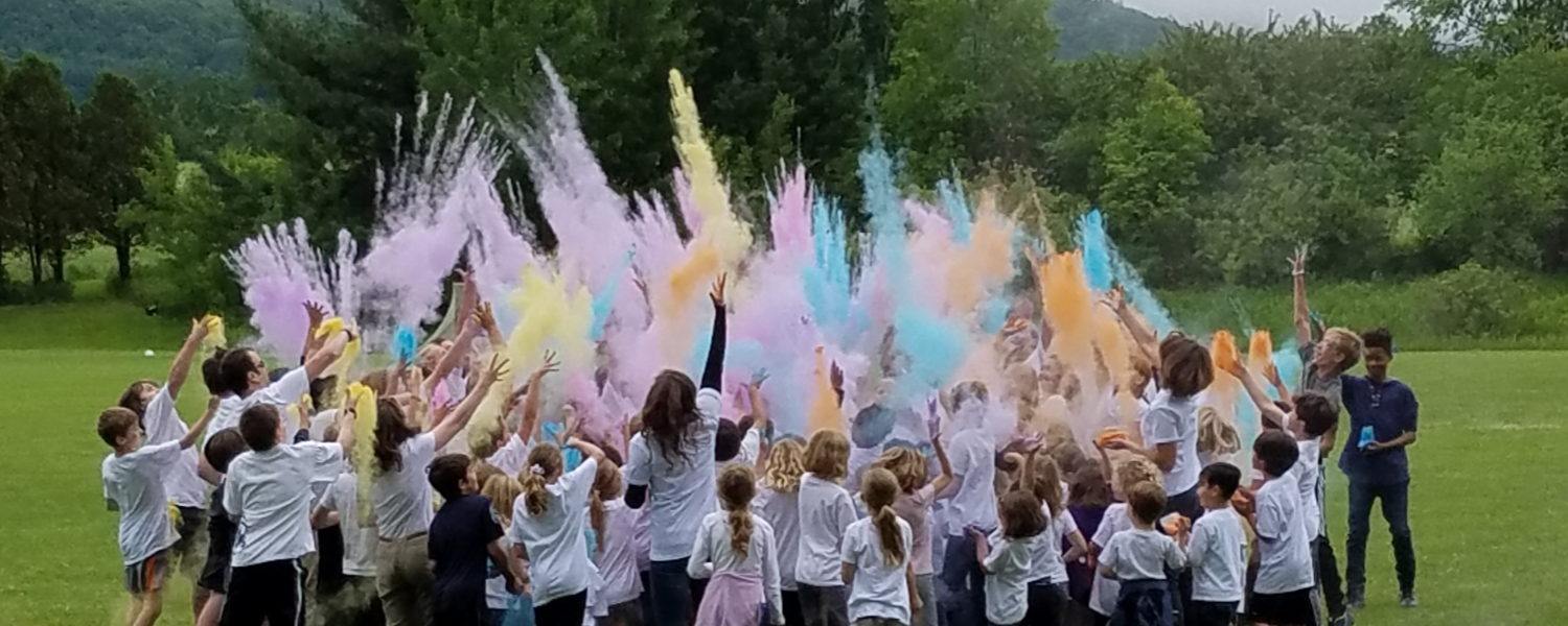 Pine Cobble School All School Holi Celebration Home Page
